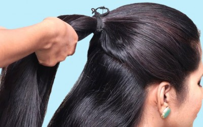 3-Easy-Hairstyles-for-Party-College-Work-hair-style-girl-Latest-hairstyles-for-Long-Hair-2019-1
