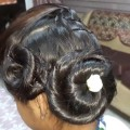 An-Easy-and-Beautiful-Self-hairstyle-for-Party-Receptions.-Medium-Medium-long-hair.