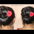 Beautiful-Bun-Hairstyle-for-Valentines-Day-Hair-Style-Girl-hairstyles-for-girls-hairstyles