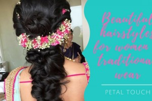 Beautiful-hairstyles-for-women-in-traditional-wear