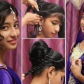 Easy-Juda-Hairstyle-for-Wedding-Perfect-Bridal-Bun-Hairstyles-Ladies-Fashion