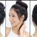 Easy-Trick-To-Make-Your-Bun-Hairstyles-Long-Lasting-All-Day