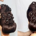 Latest-Bridal-Bun-hairstyle-for-wedding-Easy-Updo-hairstyle-for-long-hair-Hair-Style-Girl-1