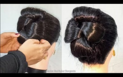 Latest-Party-Hairstyle-for-long-hair-Easy-hairstyle-2019-for-girls-Hair-Style-Girl-hairstyles-2