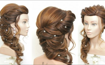 New-Bridal-Prom-Hairstyle-For-Long-Hair.-Step-By-Step