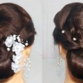 New-Low-Bun-Hairstyle-For-partyWedding-Easy-hairstyle-For-Long-Hair-2019-hair-style-girl-2