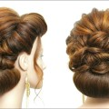 New-Wedding-Hairstyle-For-Long-Hair.-Bridal-Updo-With-Low-Bun