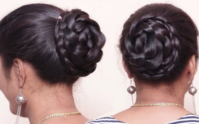 Perfect-Bun-Hairstyle-Easy-Updo-For-Long-Hair-Tutorial-Hair-style-girls