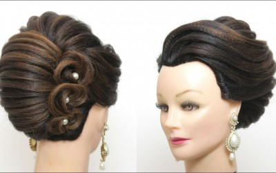 Perfect-French-Roll.-New-Bridal-Hairstyle-For-Long-Hair-Tutorial-1
