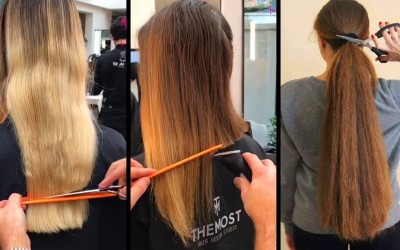 Top-10-Amazing-Long-Hair-Cutting-TutorialsLong-To-Short-Hairstyle-Transformations-2019