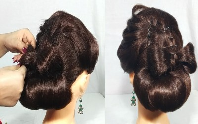 Updo-hairstyle-for-long-hair-Hairstyles-for-Partywedding-simple-hairstyle-cute-hairstyle