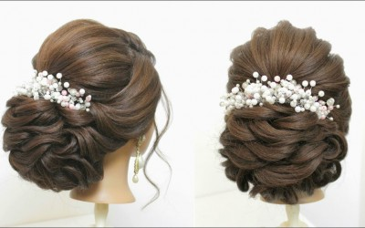 Wedding-Hairstyle-For-Long-Hair.-New-Bridal-Updo-Tutorial
