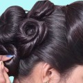 Wedding-guest-hairstyle-in-just-1-Minutes-Bun-hairstyles-for-long-hair-hair-style-girl