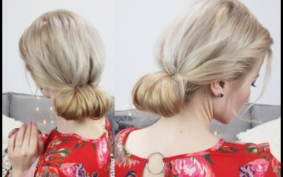 2MIN-EVERYDAY-ELEGANT-BUN-HAIRSTYLE-FOR-MEDIUM-OR-LONG-HAIR-Awesome-Hairstyles-