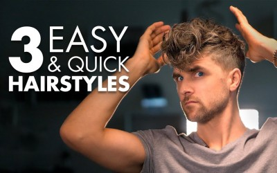 3-Quick-and-Easy-Hairstyles-For-Men-Mens-Hair-Tutorial