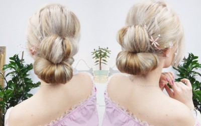 3MIN-SIMLPE-ELEGANT-UPDO-HAIRSTYLE-FOR-LONG-MEDIUM-OR-SHORT-HAIR-Awesome-Hairstyles-