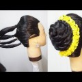 5-minutes-easy-wedding-hairstyle-with-trick-new-juda-hairstyle-for-party-hair-style-girl