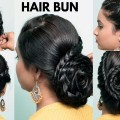 Easy-Bun-Hairstyles-for-WeddingPartyFunction-Pretty-Simple-Bun-Hairstyles-Tutorials-for-2019