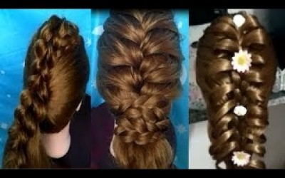 Easy-Hair-Style-for-Long-Hair-TOP-25-Amazing-Hairstyles-Tutorials-Compilation-2019