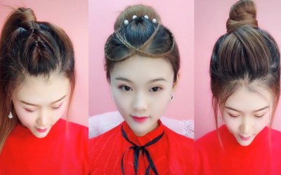 Easy-Hair-Style-for-Long-Hair-TOP-47-Amazing-Hairstyles-Tutorials-Compilation-2019