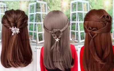 Easy-Hairstyles-For-Long-Short-Hair-Best-Hairstyles-For-Girls
