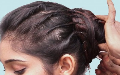 Easy-Short-Hairstyle-Tutorial-2019-SIMPLE-AND-QUICK-HAIRSTYLES-FOR-SHORT-HAIR-hair-style-girl