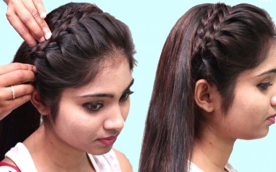 Everyday-Side-Braid-Hairstyles-for-short-hair-Easy-Hairstyle-for-Girls-hairstyles-2019