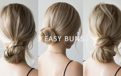 HOW-TO-3-EASY-Low-Bun-Hairstyles-Perfect-for-Prom-Weddings-Work