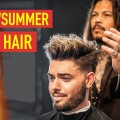 Mens-SpringSummer-Messy-Haircut-Hairstyle-Cool-Modern-Mens-Hair-2019