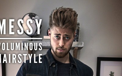 Messy-Voluminous-Hairstyle-Easy-Mens-Hairstyles-Hanz-De-Fuko