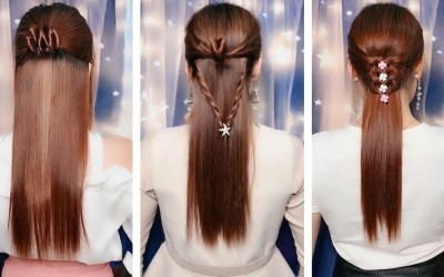 Pretty-HairStyle-Long-for-Girls-20-Amazing-Hairstyles-Tutorials-Most-Satisfying-Hair-Video-3