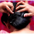 Quick-Easy-Twisted-bun-hairstyle-Ladies-Fashion