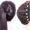 latest-updo-hairstyle-for-medium-hair-with-trick-trending-hairstyles-hairstyles-for-wedding