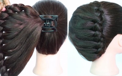 very-easy-hairstyle-using-clutcher-with-trick-braided-hairstyles-new-hairstyle-easy-hairstyles