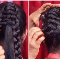 2-Beautiful-Hairstyles-for-Girls-with-Trick-ladies-Fashion