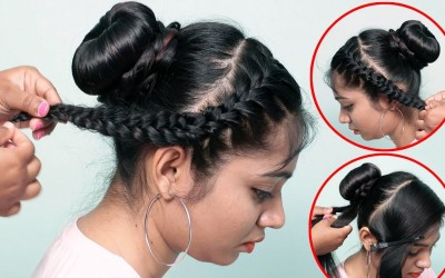 2-Easy-And-Simple-Hairstyles-For-Girls-Cute-Simple-Easy-Hairstyles-Easy-Summer-hairstyles