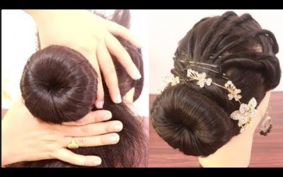 Amazing-juda-hairstyle-for-Weddingparty-hairstyle-2019-new-hairstyle-hairstyles