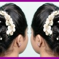Beautiful-wedding-and-party-wear-hairstyle-for-medium-long-hair-Easy-party-hairstyles-Fashion