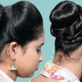 Cute-Easy-Hairstyles-Perfect-Puff-With-A-Quick-High-Ponytail-Hairstyle-For-College-Work-Party