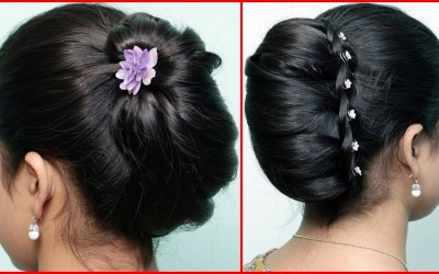 Cute-and-Easy-Hairstyles-for-Girls-with-Trick-Pretty-French-Twist-Updo-New-Party-Wear-hairstyles
