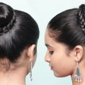 Easy-Beautiful-bun-hairstyles-for-girls-Lovely-Bun-Hairstyles-Cute-Bun-Hairstyles-for-Girls