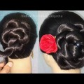Easy-Quick-Hairstyle-for-wedding-Beautiful-Bun-hairstyle-for-girls-summer-hairstyles