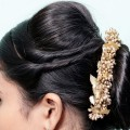 Easy-juda-bun-hairstyle-for-weddingParty-cute-hairstyle-with-trick-hair-style-girl-hairstyles