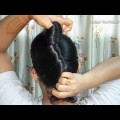 Easy-way-to-make-French-Roll-Hairstyle-in-1-minute-with-using-Bun-Stick-Indian-Youtuber-Sangeeta