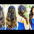 Hair-Style-Girl-hairstyle-Best-Hairstyle-for-long-hair-Easy-Party-hairstyle-2019-for-girls