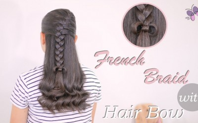 Hairstyle-for-Girls-with-French-Braid-and-hair-Bow-Hairstylesfor-Long-Hair