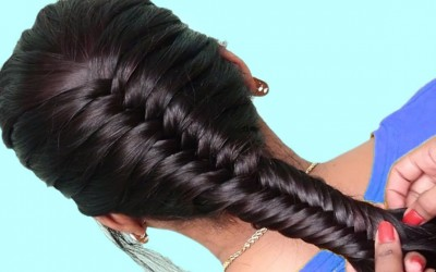 Hairstyles-tutorials-for-girls-Quick-Hairstyles-for-School-girls-Easy-Hair-Style-for-Long-Hair
