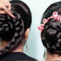 Juda-hairstyle-for-Weddingparty-Perfect-Bridal-Bun-Hairstyles-girl-Wedding-guest-hairstyle