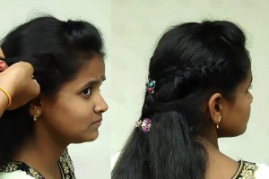 Low-puff-hairstyle-for-kids-Schoolcollege-puff-hairstyles