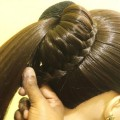 New-bun-Hairstyle-for-PartyWedding-Trending-Hairstyle-Party-Hairstyles-Updo-Hairstyle